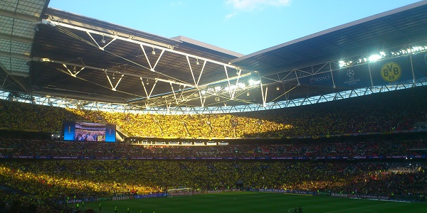 BVB Fans Wembley 2013 UCL Final