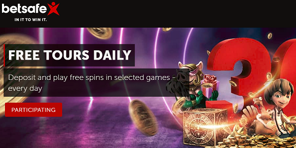 Betsafe Casino Daily Free Spins
