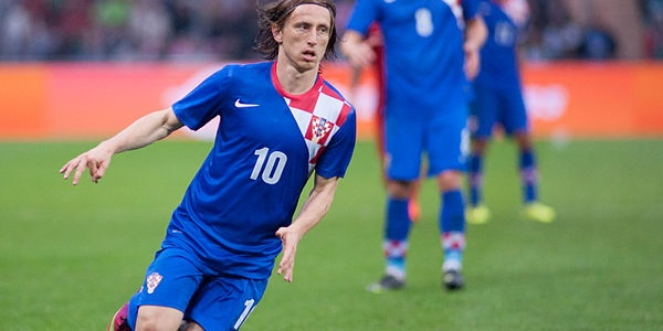Luka Modric Croatia v Portugal 2013 June