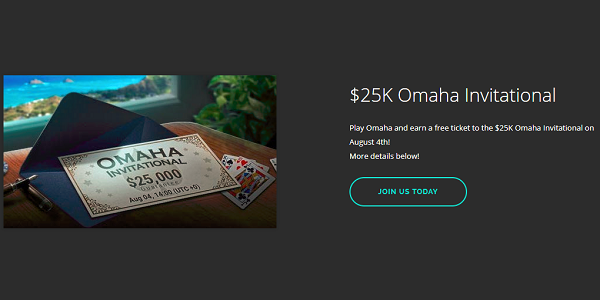 Natural8 Poker Omaha Invitation