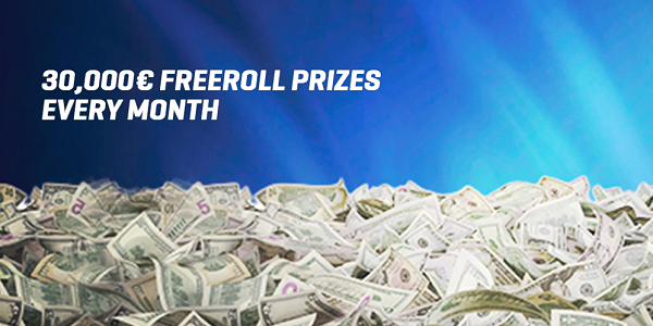 NordicBet Monthly Freeroll Prize Pot