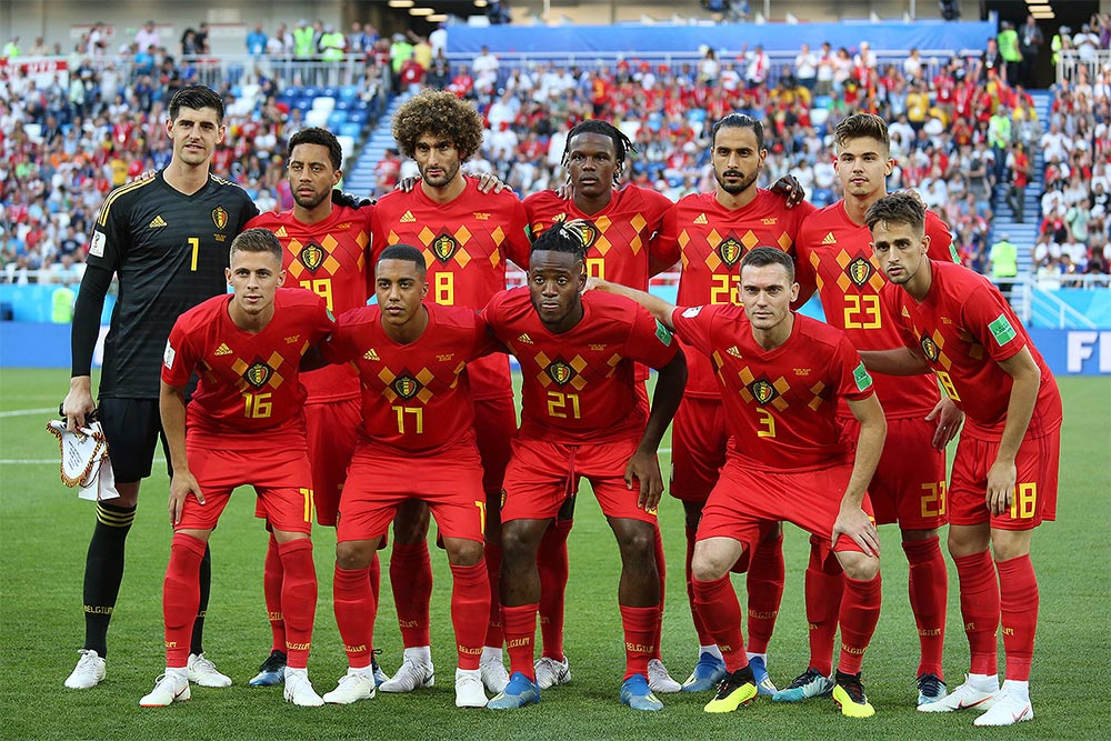 Belgium at the World Cup