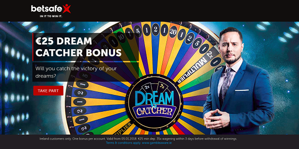 Will You Play for this Dream Catcher Promotion by Betsafe Casino?