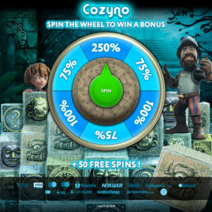 Exclusive Cozyno Casino bonus