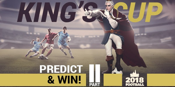 King Billy Casino World Cup Prediction 2018