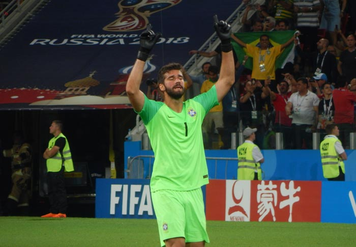 Bet on Alisson Becker to transfer
