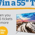 Play Lotto and Win a Samsung UHD TV at The Health Lottery!