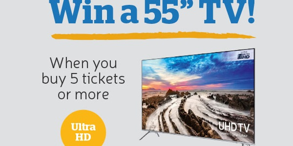 The Health Lottery Samsung UHD TV Giveaway