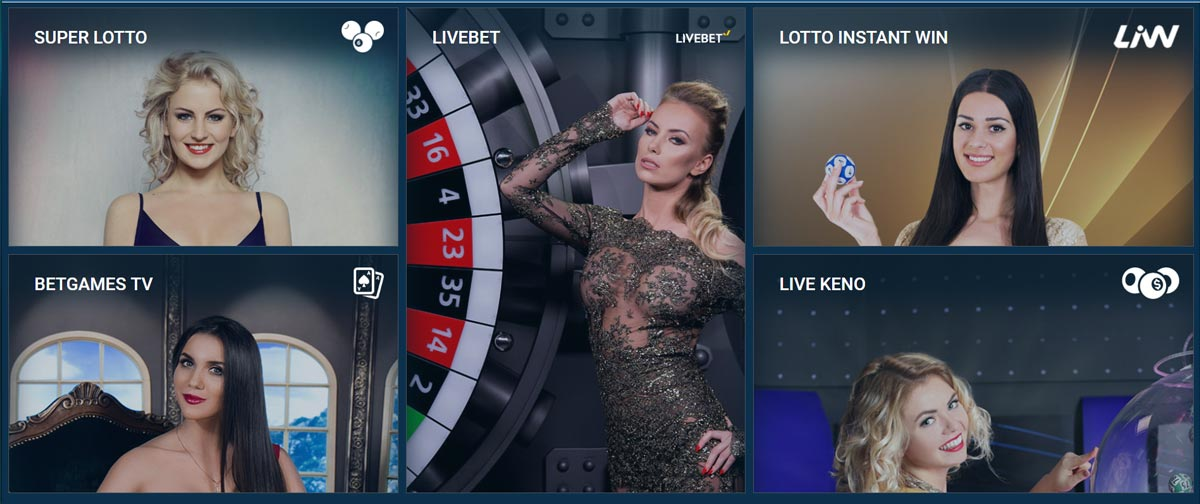 TV Games at 1xBet Casino