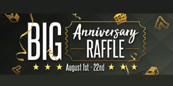 This Vegas Crest Casino Anniversary Promotion Offers You $1,000 Cash Prize!
