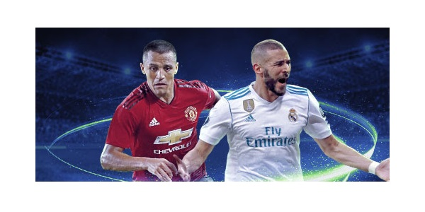 Real Madrid Man Utd ICC Betting Promo