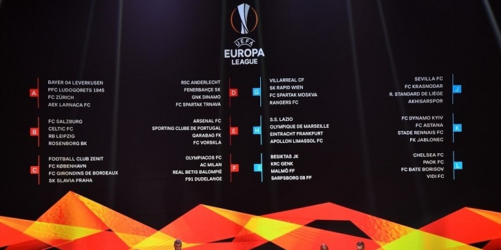 Europa League Group Stage 2018/19