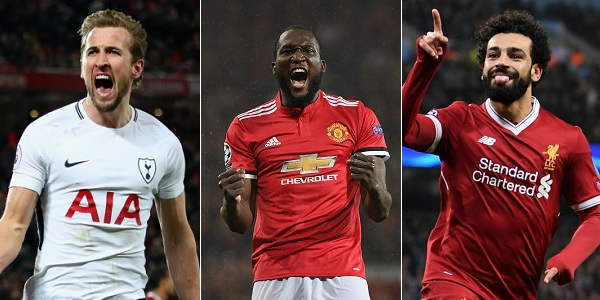 Harry Kane Romelu Lukaku Mohamed Salah Best Premier League Strikers