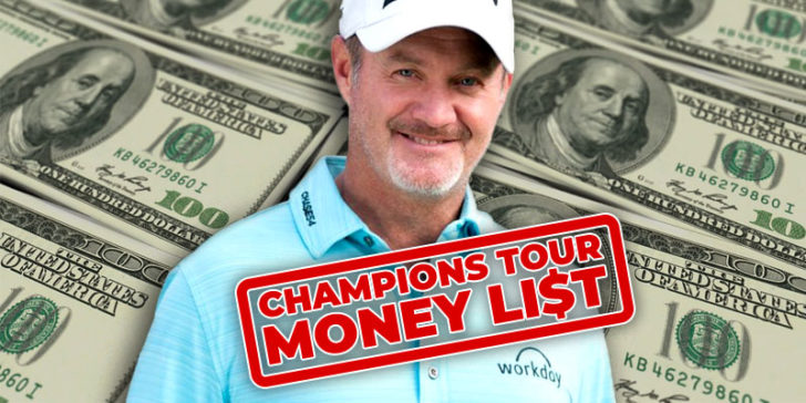 2018 Champions Tour Money List