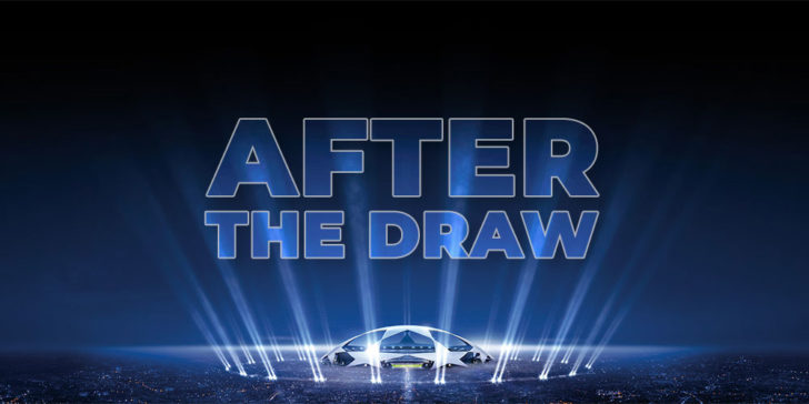 Champions League odds after the draw