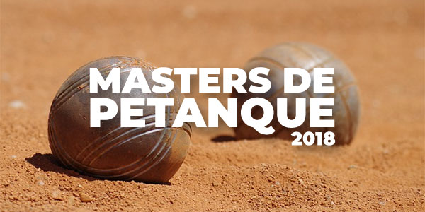 Petanque Masters 2018 betting odds