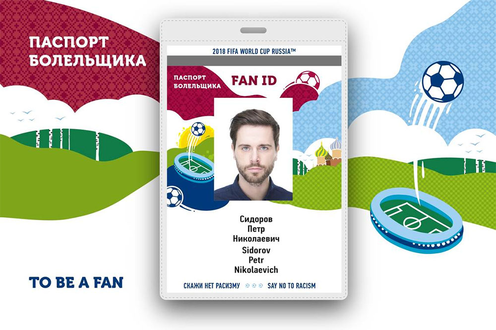 Visa free entry for FIFA Fan ID holders