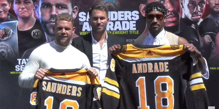 Saunders vs Andrade betting tips