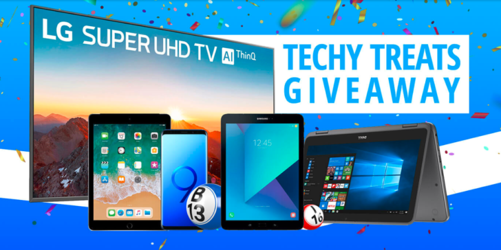 Bingo Hall Weekly Tech Giveaway