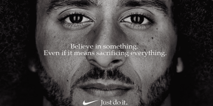 Nike Just Do It Ad Kaepernick 2018