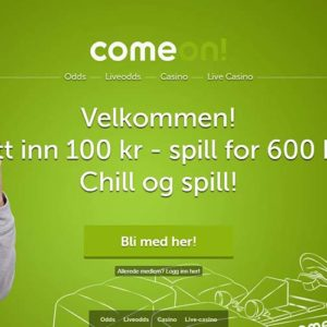 ComeOn! Casino Norway Welcome Offer