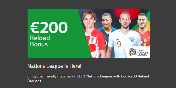 Get €200 with This UEFA Nations League Deposit Promo at LSbet Sportsbook!