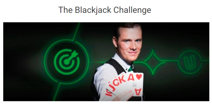 Unibet Casino Blackjack Challenge