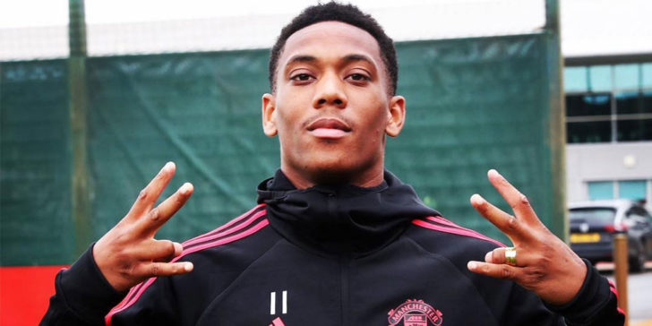 Betting Odds on Anthony Martial to Score against Bournemouth