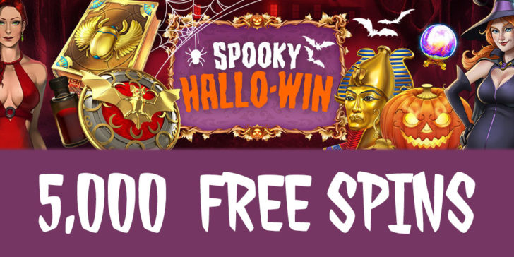 Halloween slots at CasinoGym