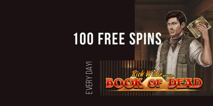 Book of Dead Free Spins King Billy Casino