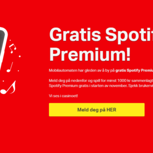 Win Spotify Premium for a Month at the Best Online Casino in Norway!