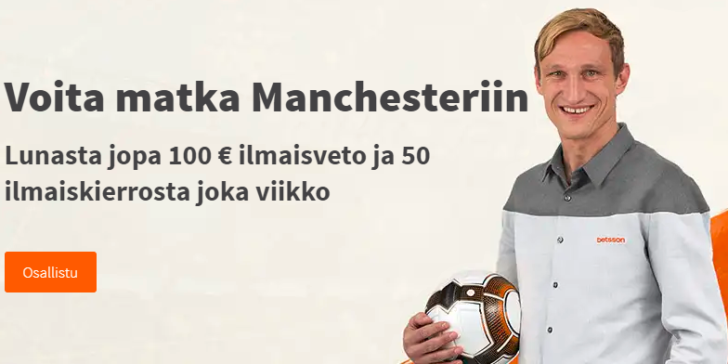 Time to Bet at Betsson in Finland – Win Man Utd VIP Tickets Against Fulham!