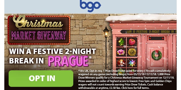 Win a Trip to Prague and Spend Your GBP 500 at the Christmas Market!