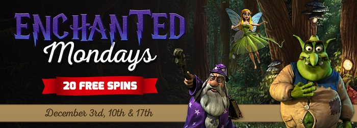 Christmas Casino Promotions Monday Free Spins