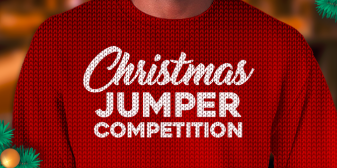 Win Free Spins on Ugly Christmas Jumper Contest!