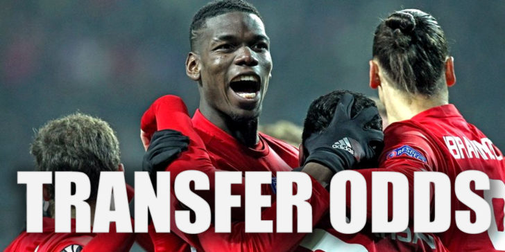 Pogba Transfer Odds in January 2019