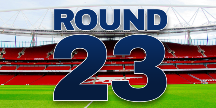 Premier League round 23 betting preview