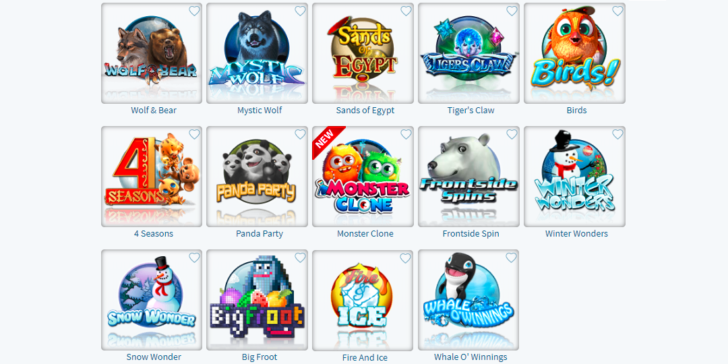 Winter Themed Slots CyberBingo