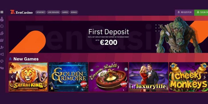 review about zen casino
