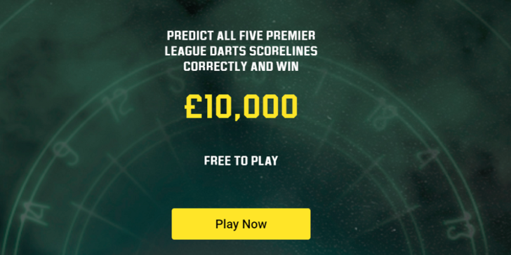 Darts Betting Offers Unibet