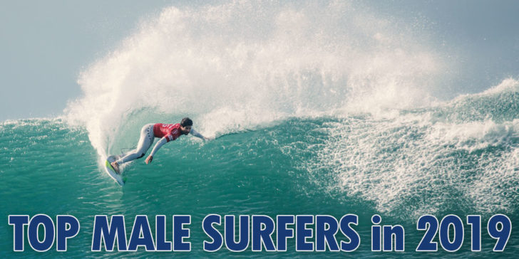 The Top Male Surfers 2019