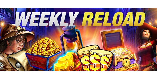 Weekly Casino Reload Promotion uGObet