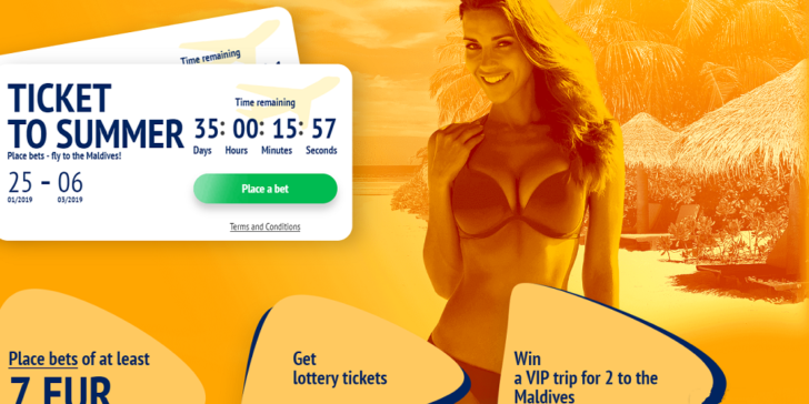 Win a Trip to the Maldives 2019 1xBET Casino