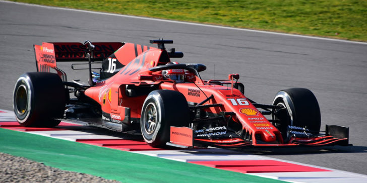 2019 F1 Betting Odds On Charles Leclerc