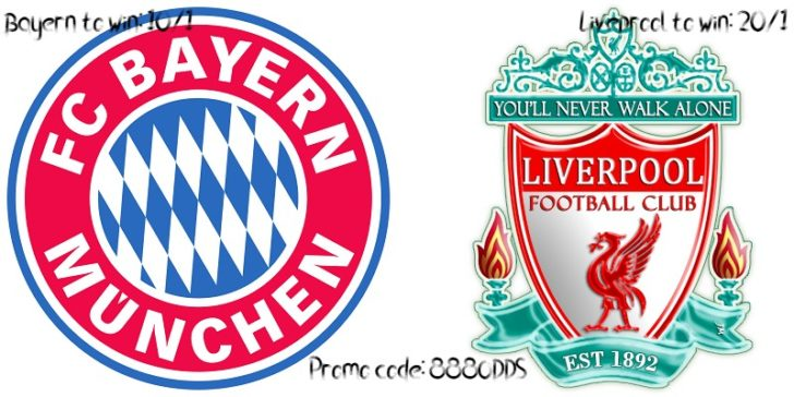 Bayern vs Liverpool Enhanced Odds 2019 888sport
