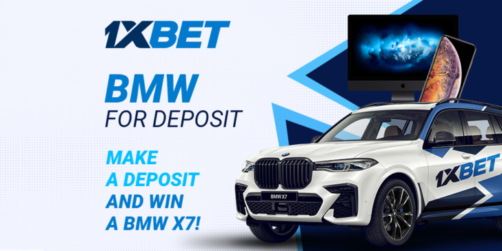 Win a BMW X7 1xBET Casino