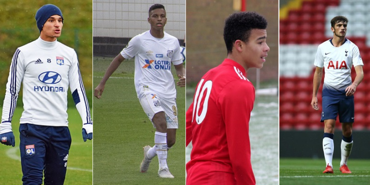 Most Talented Young Footballers in 2019 Aouar Rodrygo Greenwood Parrott