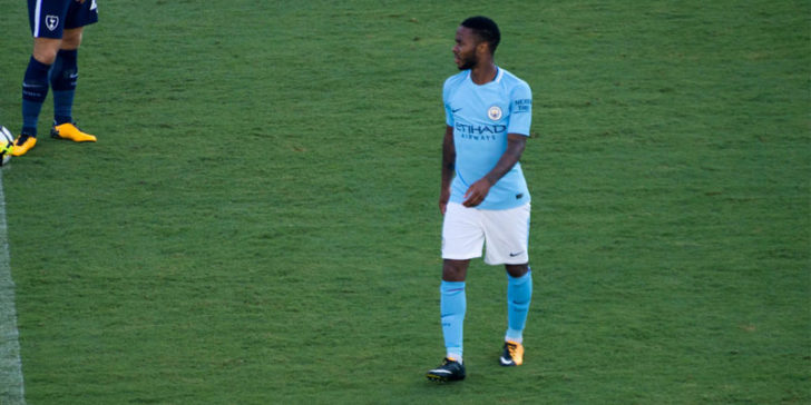 Raheem Sterling has become a key man for Man City