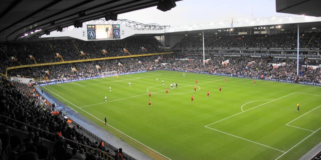 Old Tottenham Stadium White Hart Lane