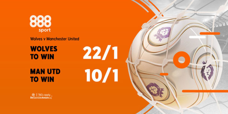 Wolverhampton - Manchester United enhanced odds